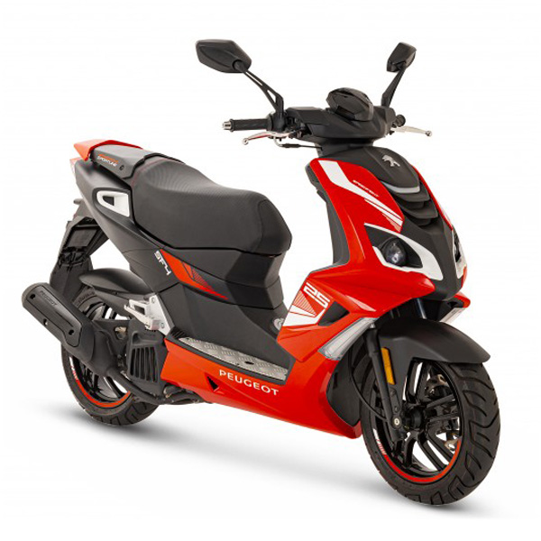 PEUGEOT Speedfight4 2T (SPORTLINE RED) scooter