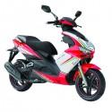 Formula 125 E4 (RedWhite) scooter