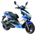 Formula 125 E4 (BlueWhite) scooter