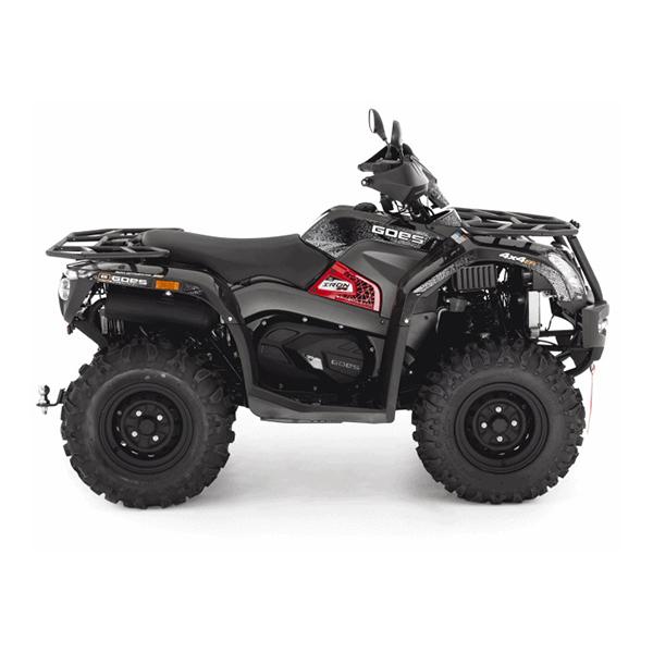 GOES IRON SHORT 450(BLACK) STEEL ATV