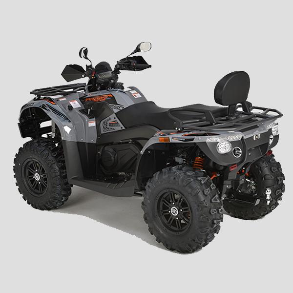 GOES COBALT SHORT 550 LTD(GREY) ALU. ATV