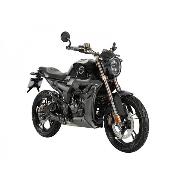 G1 Scrambler E5 black motorcycle