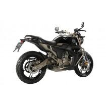 G1 Scrambler E5 Grey Motorcycle