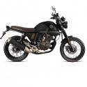 ZIPP Café Racer 125 EFI(Black) motorcycle
