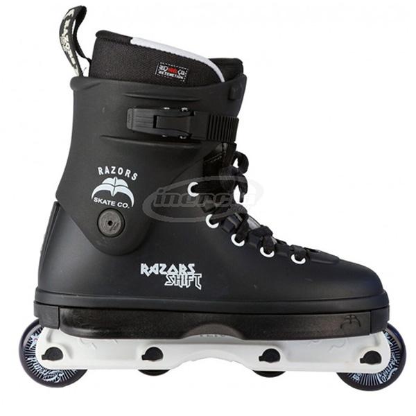 Shift Skate 43 BlackWhite Razor inline skates