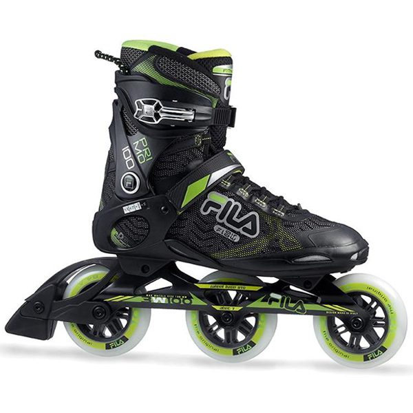 Primo 100 BlackGreen 45.5 (010618060) inline skates