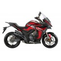 Zontes ZT310-X2 E5 Red-Black motorcycle
