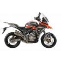 Zontes ZT310-T2 E5 orange motorcycle